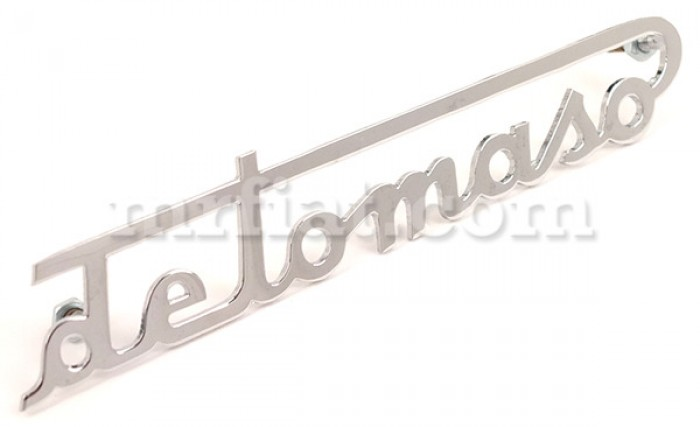 De Tomaso De Tomaso Chrome Script 115 mm