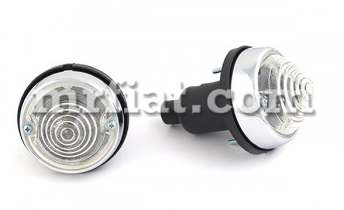 Innocenti Mini Minor Front Indicator Lights Set