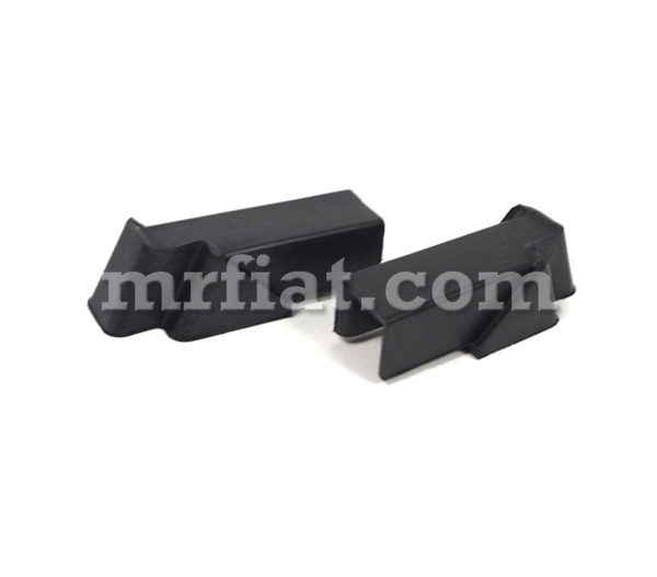 alfa romeo gt junior 1300 gta 1600 1750 vent window channel rubber end set new ebay. Black Bedroom Furniture Sets. Home Design Ideas