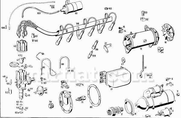 Mercedes 230 Sl Wiring Diagram