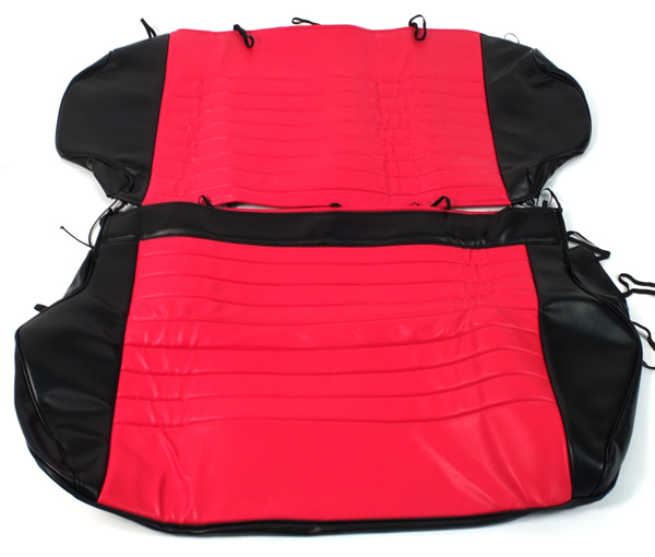 Fiat 500 Anatomical Red Seat Covers New