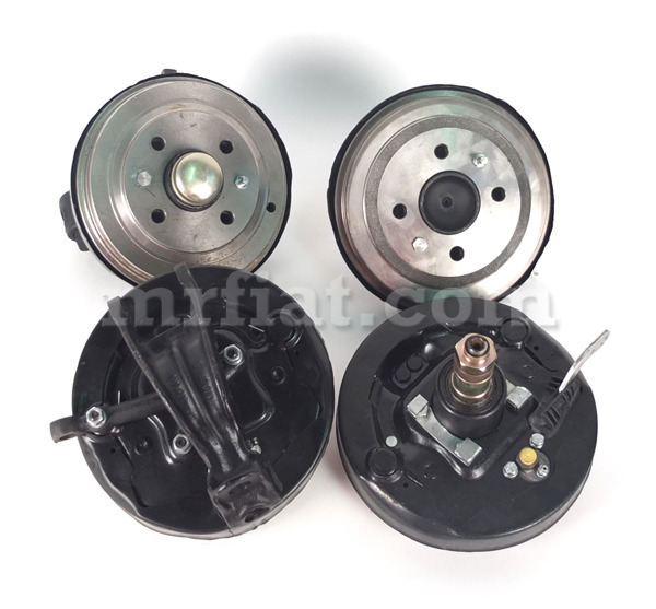 fiat 500 drum brake conversion kit new ebay. Black Bedroom Furniture Sets. Home Design Ideas