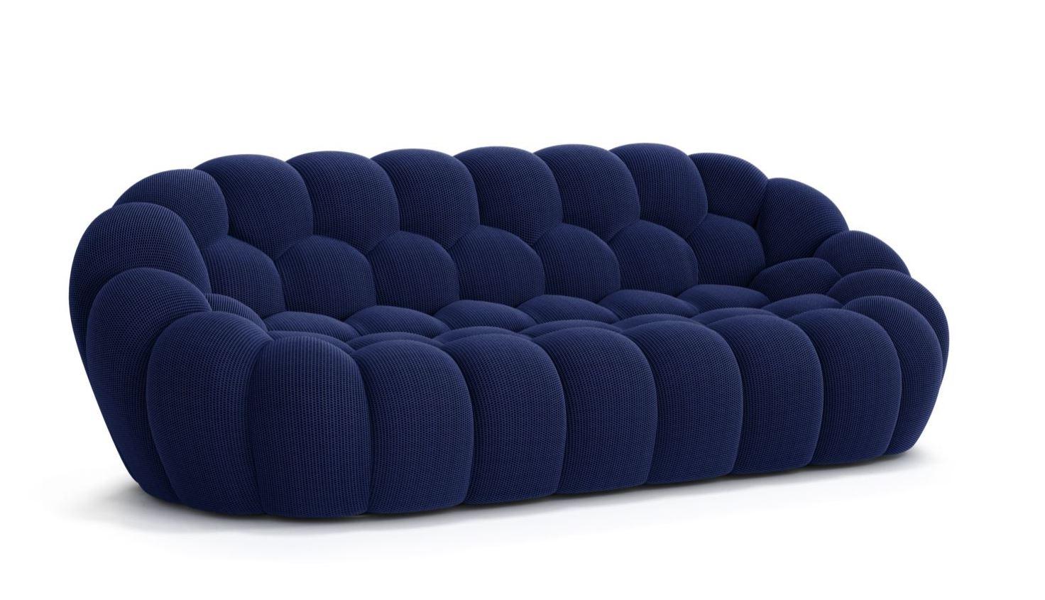 Bubble Sofa Roche Bobois details about roche bobois bubble large 3 seat sofa zeffiro new in stock usa