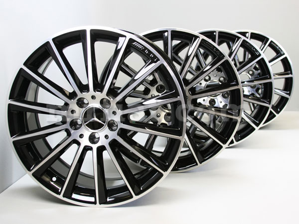 Mercedes benz genuine c class amg w205 c250 c300 c450 for Mercedes benz c300 black rims