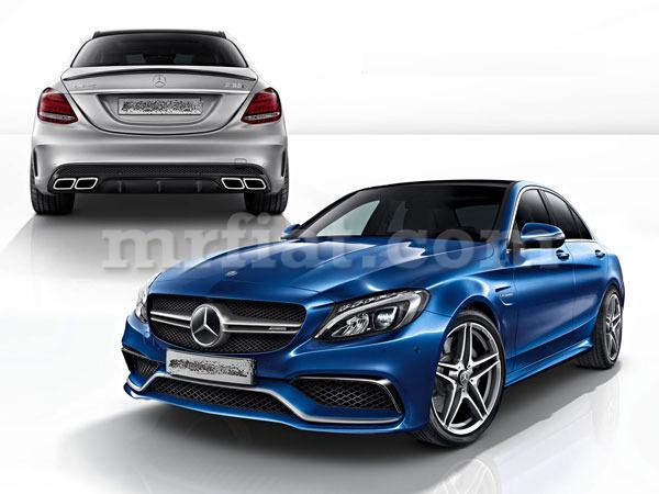 Mercedes benz genuine c class amg c63 w205 c250 c350 c400 for Mercedes benz c class body kit