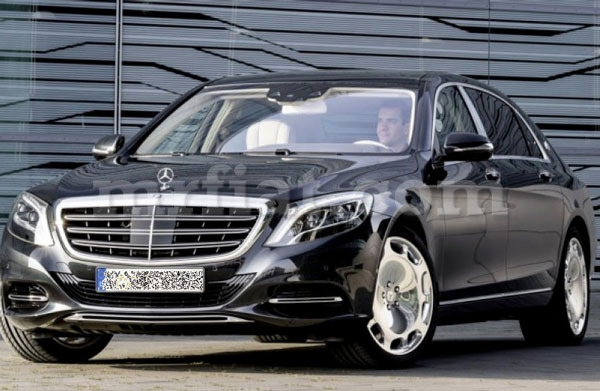 Mercedes Benz Genuine S-Cl Maybach W222 S350 S500 S600 Chrome ...