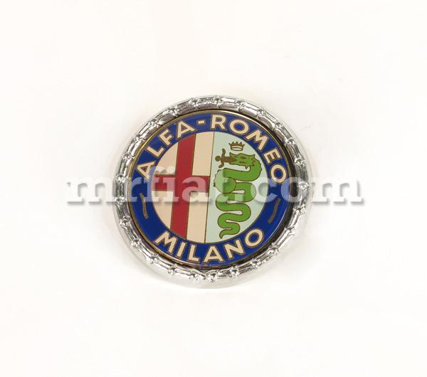 Alfa Romeo Giulia Sedan Milano 55 Mm Plastic Emblem New
