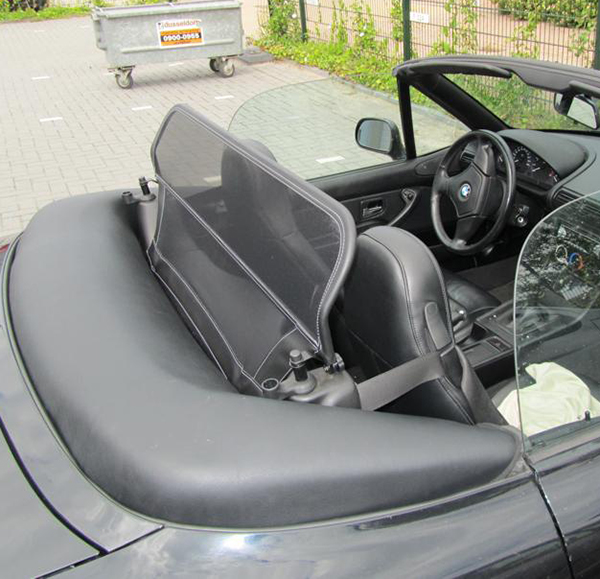 Bmw Z3 Roadster 1996 2003 Wind Deflector W 8 Mm Holes New
