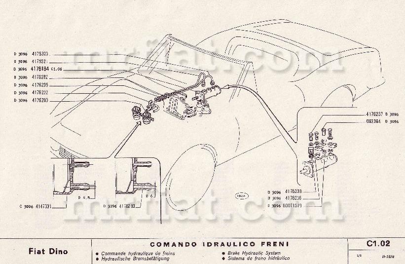 brake booster vacuum hose diagram