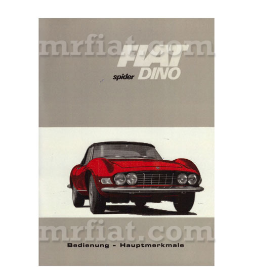 fiat dino 2000 fiat dino spider owner s manual german new fiat spider 2000 repair manual fiat 124 spider repair manual