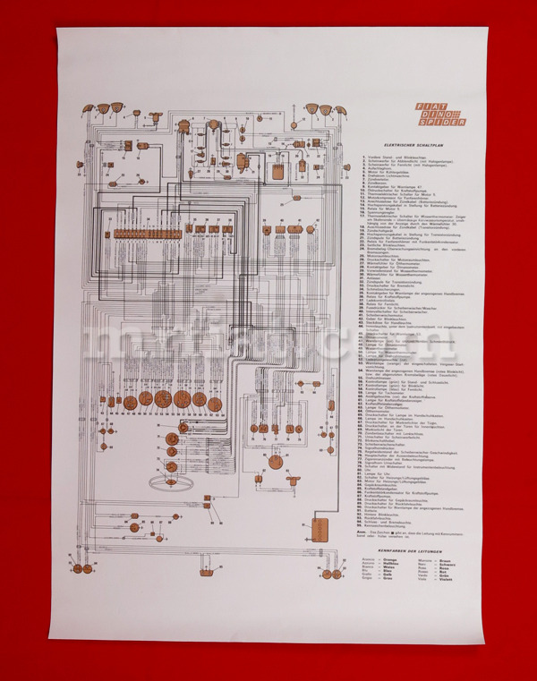 Details about Fiat Dino 2400 Coupe Wiring Diagram 59x84 cm New on electrical diagrams, series and parallel circuits diagrams, honda motorcycle repair diagrams, friendship bracelet diagrams, engine diagrams, sincgars radio configurations diagrams, troubleshooting diagrams, switch diagrams, hvac diagrams, lighting diagrams, gmc fuse box diagrams, battery diagrams, electronic circuit diagrams, internet of things diagrams, transformer diagrams, motor diagrams, pinout diagrams, led circuit diagrams, smart car diagrams,
