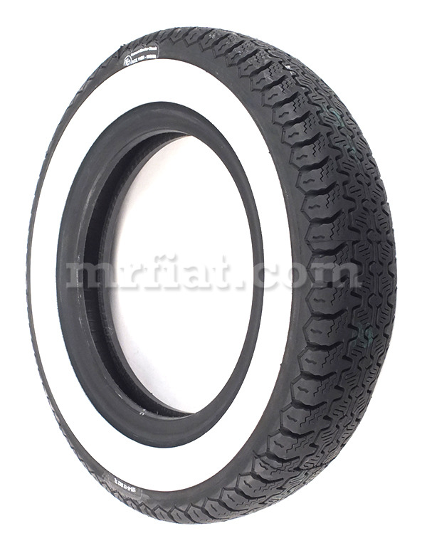 Fiat 500 600 Pirelli Cinturo 125/12 40 mm Whitewall Tire ...