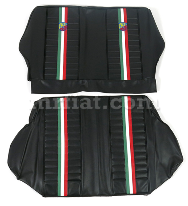 Fiat 500 Italian Abarth Seat Covers Set New