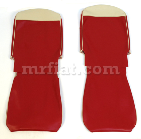 Fiat 500 F R Dark Red Seat Covers New On PopScreen