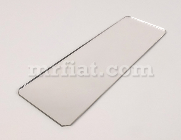 Fiat 500 n d interior rear view mirror replacement glass new ebay for Interior rear view mirror replacement glass