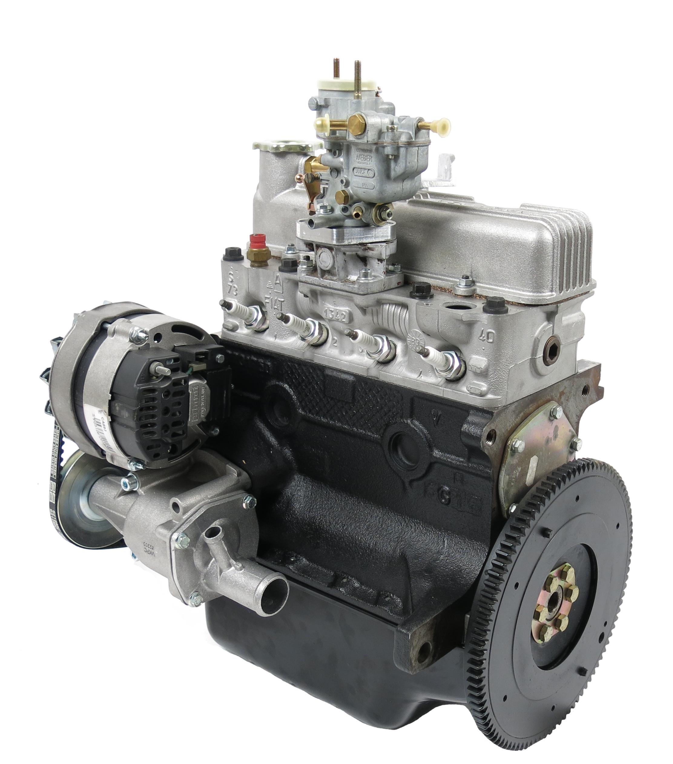 Fiat 600 D 70 HP Sport Engine 770 Cc Rebuilt
