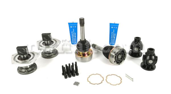 Fiat 600 Abarth 850 1000 Tc Drive Shafts Complete Kit Ebay