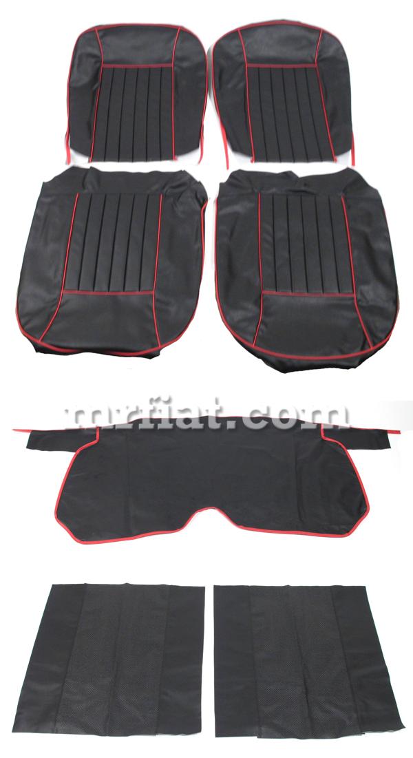 Alfa Romeo Giulietta Spider 2nd Series Black W Red Piping