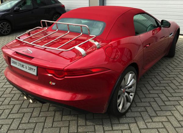 jaguar f type cabriolet luggage rack new. Black Bedroom Furniture Sets. Home Design Ideas