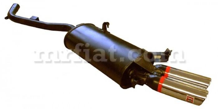 Maserati Biturbo Racing ANSA Left Rear Exhaust Muffler