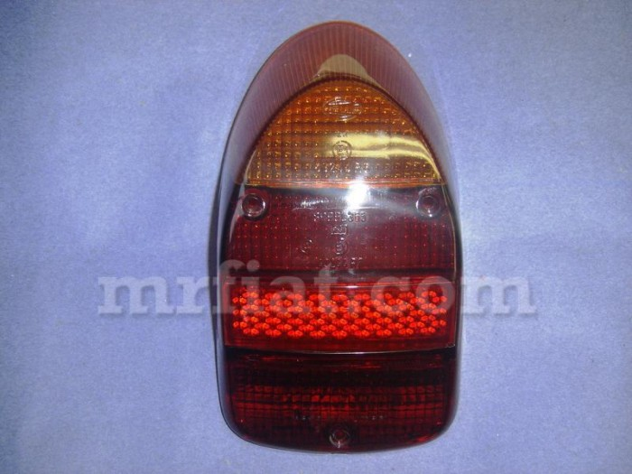 Volkswagen Beetle 1968 Onward Red Amber Tail Light Lens