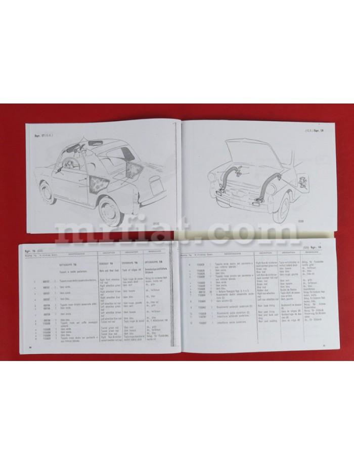 Autobianchi Bianchina Body Parts Catalog