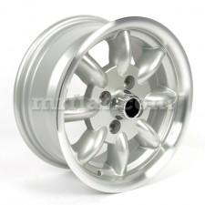 Simca 1000 Rallye 1200 S Silver Diamond Cut Minilite Wheel 6x13