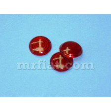 BMW 600 Motorcycle Red 18mm Control Light