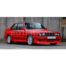 BMW E30 Red Indoor Fabric Car Cover 1982-91
