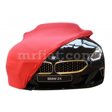 BMW Z4 Roadster G29 Red Indoor Fabric Car Cover 2018-20