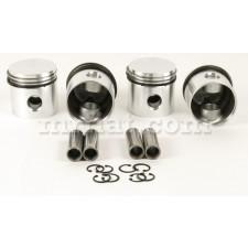 Fiat 1100 D 1200 72.8 mm Pistons Set 1200 cc