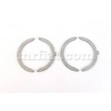Fiat 1300 1500 C/L 125 P 1500 Cabrio 118 H/L Thrust Washers Set 2.5 mm