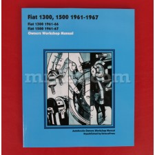 Fiat 1300 1500  Owners Workshop Manual English 1961-1967