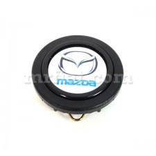 Mazda White Horn Button