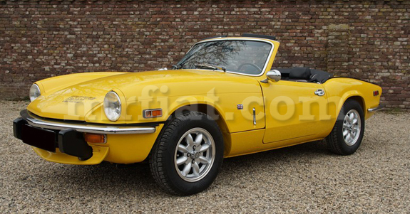 Indoor Car Cover for Triumph Spitfire